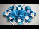 DIY. Simple Home Decor. Wall Decoration. Hanging Flower. Paper Craft Ideas 30