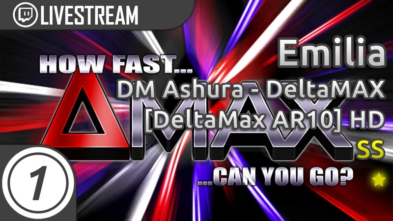 Emilia | How Fast Can You Jump? [deltaMax AR10] HD SS 8.27* | Livestream!