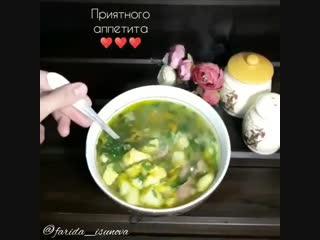 Мега улётный суп с клёцками