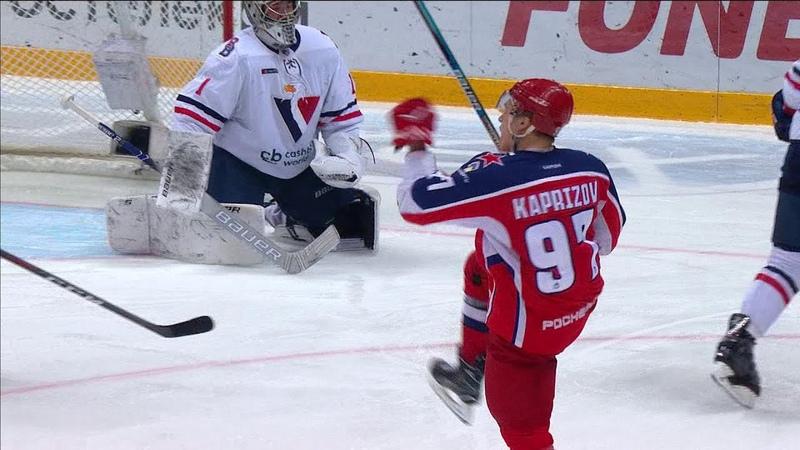 Хет-трик Капризова в ворота Слована