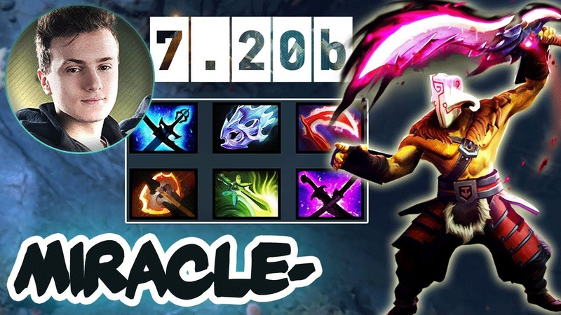 Miracle- Juggernaut MAX AS Build Vs His Best Friend GH-GOD On Tusk - 7.20b Patch Gameplay - Dota 2