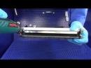 Видеоинструкция по заправке картриджей Brother TN 2175 на станции очистки картриджей