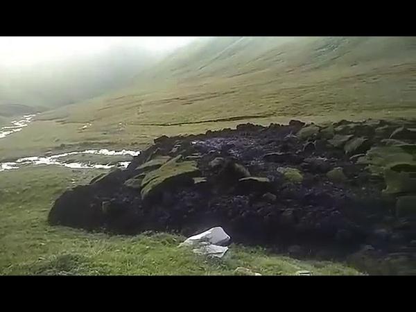Перемещение земной коры в Монголии. Movement of the Earth's crust in Mongolia