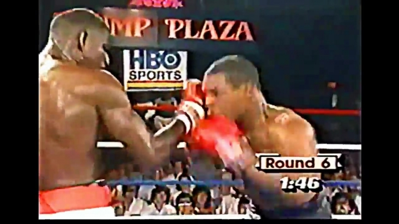 Mike Tyson vs José Ribalta highlights