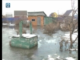 В Омске затопило один из дачных посёлков, где люди живут круглый год