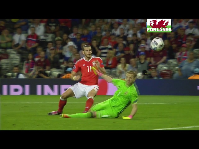 All goals for Wales at Euro 2016