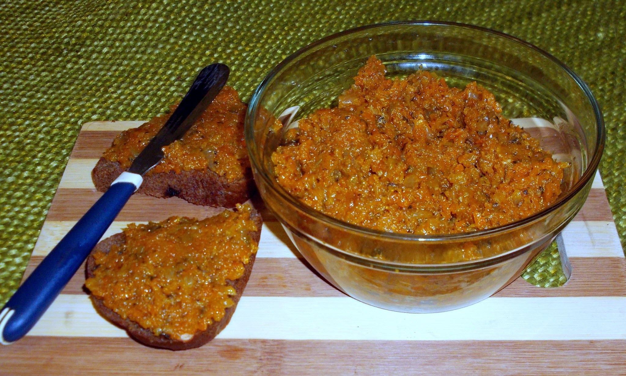 рецепт морковной икры