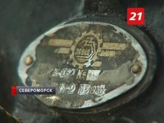 Пикирующий бомбардировщик Пе-2 достают со дна озера