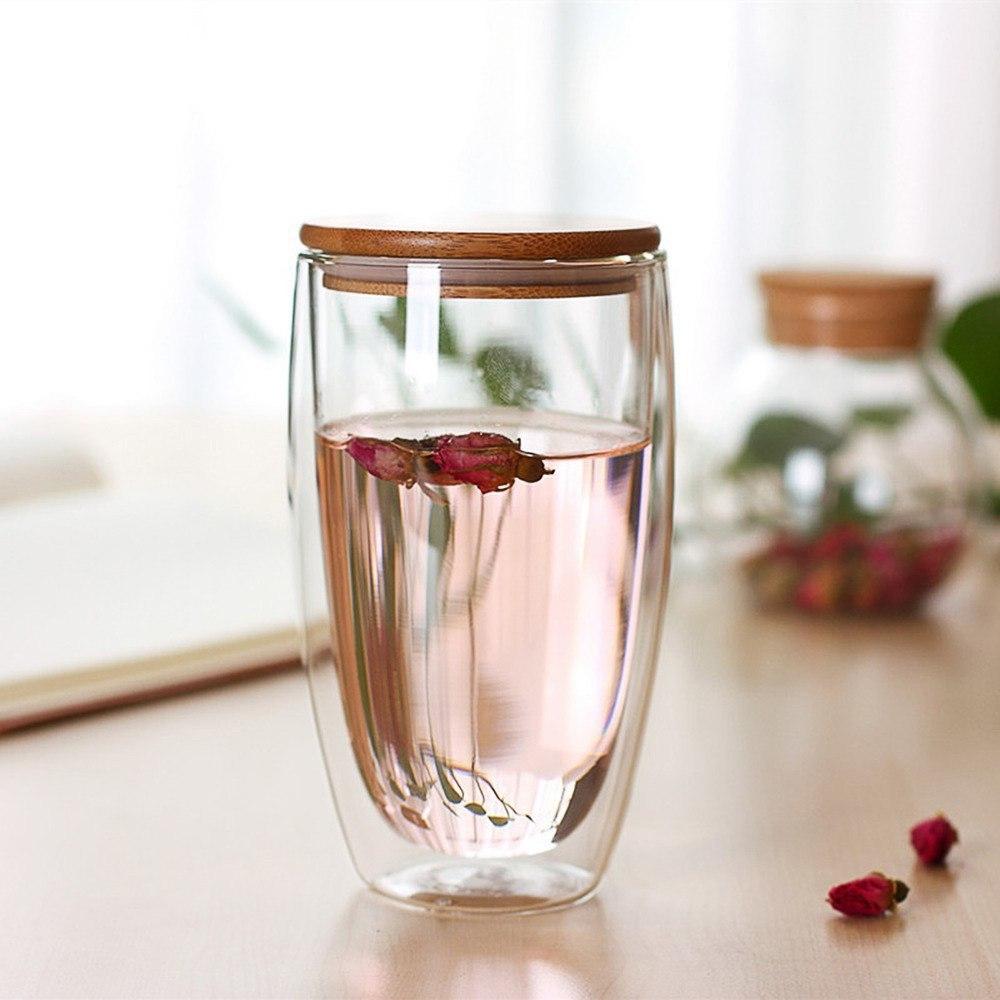 Термостойкий стакан с двойным стеклом -