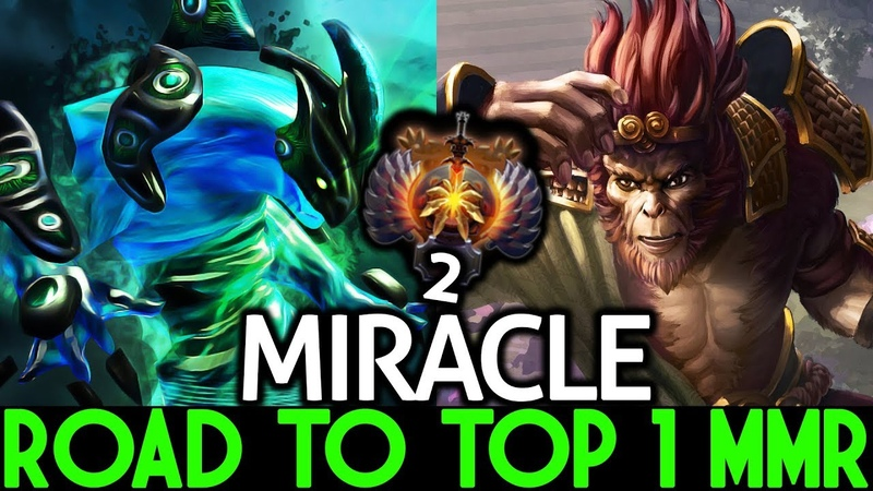 Miracle- Monkey King Morphling 2 Game Solo Mid | Road To Top 1 MMR 7.19 Dota 2