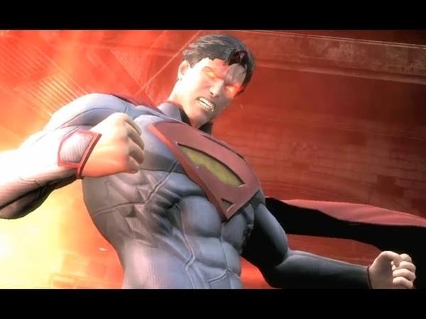 Супермен vs Зеленый Фонарь! Кто победит Injustice Gods Among Us