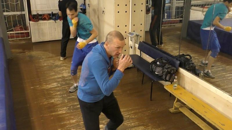 Школа бокса - групповая наработка