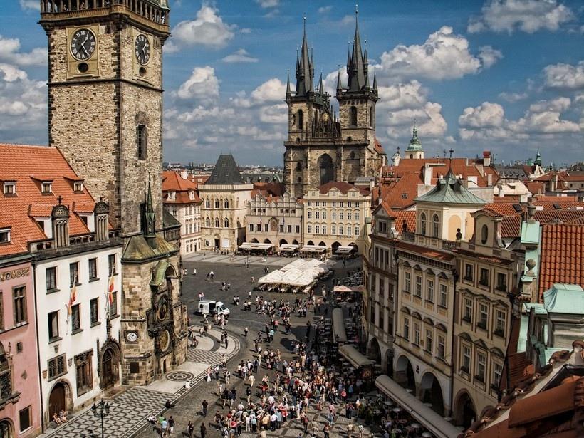 #Архитектура #Прага