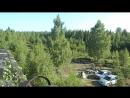 Вид с крыши заставы Наш лагерь
