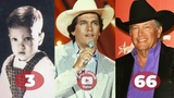 George Strait Transformation From 3 To 66 Years Old