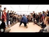 | Awesome Battle | 31.08.13 | Hip-Hop Beg | Khrabrov Vladimir vs Pankrysheva Anya |