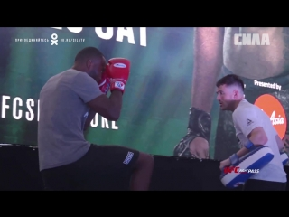 Fight Night Singapore Donald Cerrone Leon Edwards Open Workout Highlights
