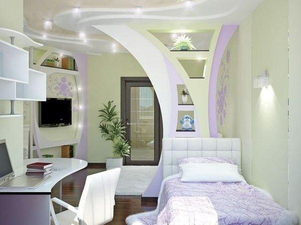 Спальня для девочки (1 фото) - картинка