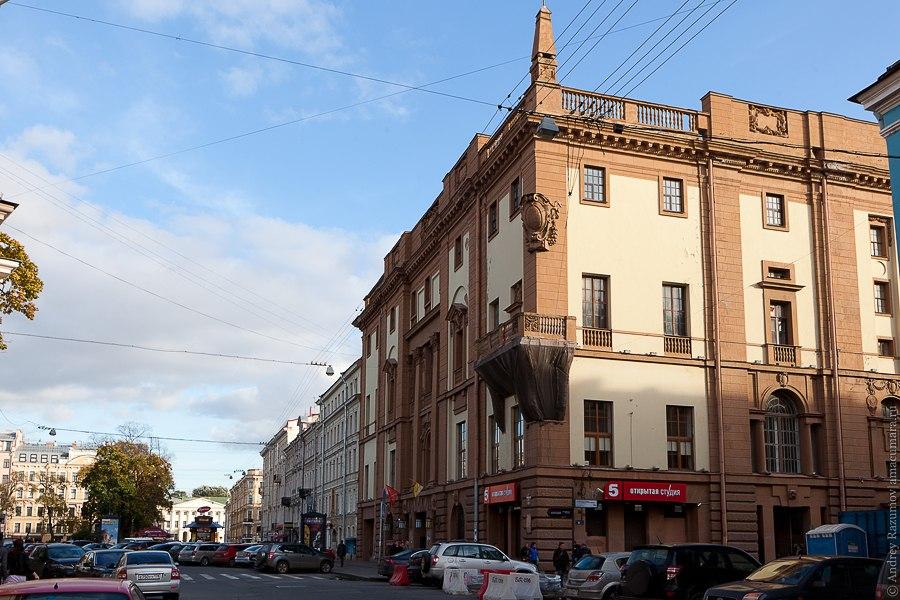 Дом Радио Итальянская улица Санкт-Петербург экскурсия
