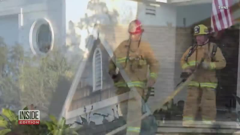 California Firefighter Fakes Blaze at His House to Propose