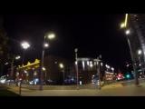 Ночные зарисовки Москвы - огни города, ночная жизнь мегаполиса.
