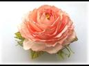 Как сделать пышную розу с плоским основанием из иранского фоамирана