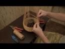 Плетение из лозы Подвесная корзинка Wickerwork