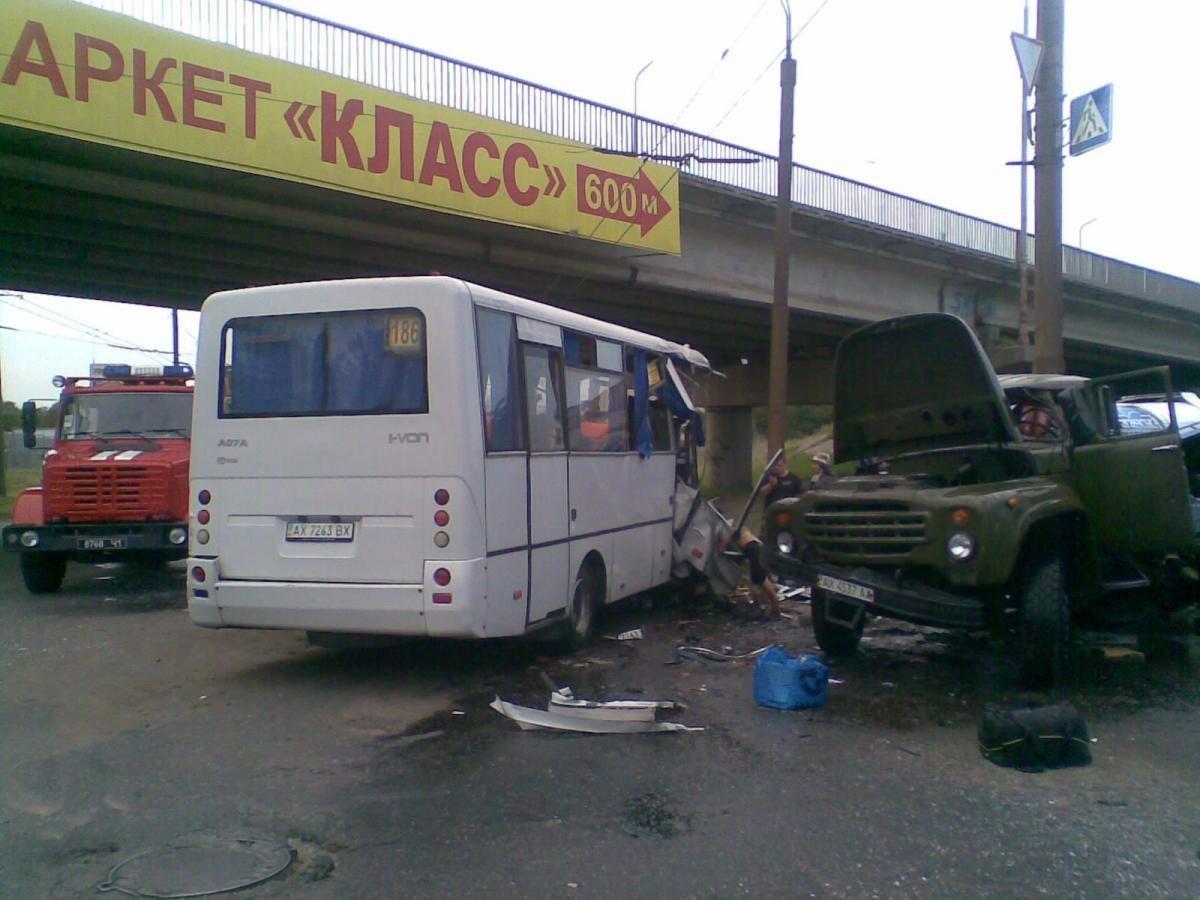 ДТП на Роганской.