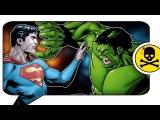 ХАЛК ПРОТИВ СУПЕРМЕНА! История знакомства самых сильных персонажей Marvel и DC (Сюжет)