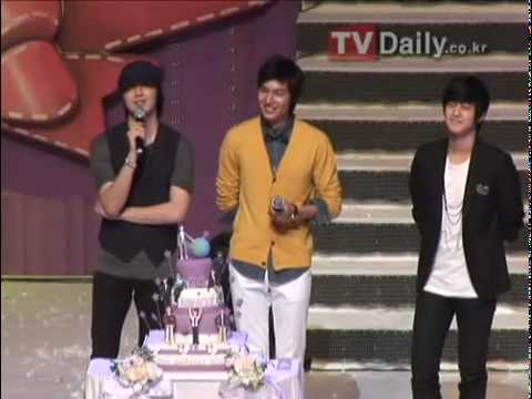 100621 TV Daily - Lee Min Ho @Special Day With Minoz