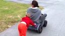 Bradley pushing mommy