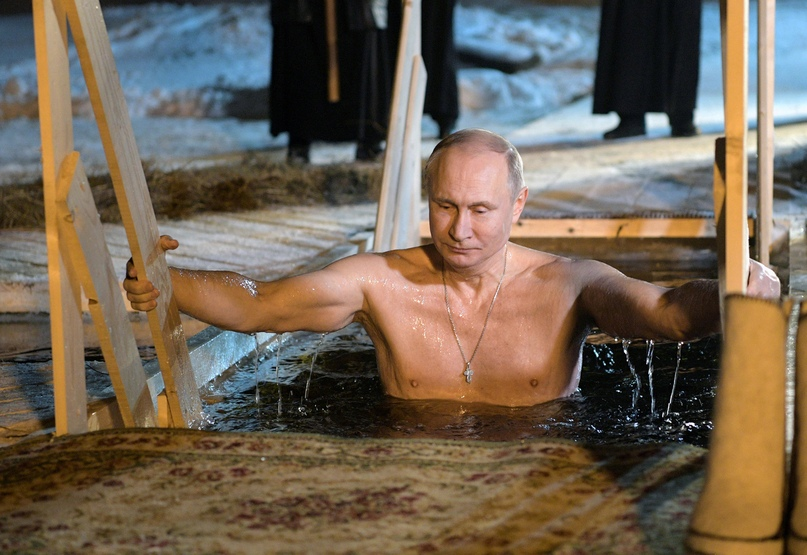 Места для крещенских купаний. Подождите загрузки картинки!