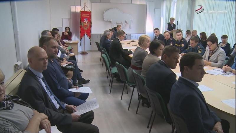 О строительстве школы в Большевике и благоустройстве в районе говорили на оперативном совещании