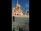 Балотелли ищет Путина на Красной площади