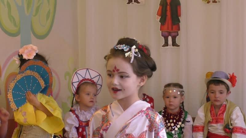 Фестиваль дружбы народов мира в детском саду познакомил детей с народными традициями и национальными костюмами