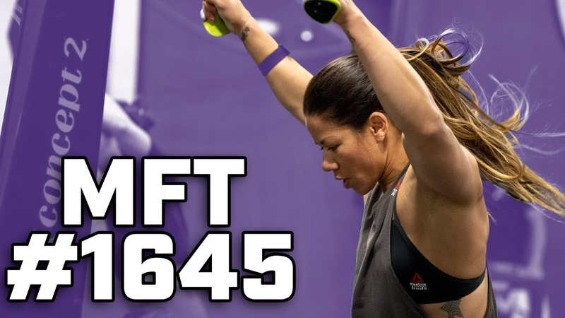 Chyna Cho takes on MFT 1645 Rope Climbs Ski Erg Sumo Deadlift High Pull