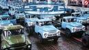 ЗИЛ и КАМАЗ, два автогиганта - конкуренты? Кинохроника 1977 год.