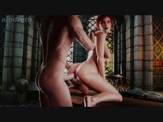 The witcher 3 triss 3d porn r34 rule 34