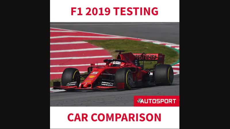 Take a look at how some of the 2019 F1 cars compare at @Circuitcat_engs final turn