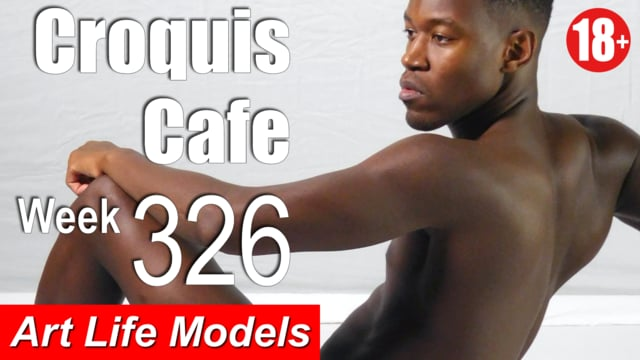 Croquis Cafe Figure Drawing Resource No. 326 (new model, new equipment)