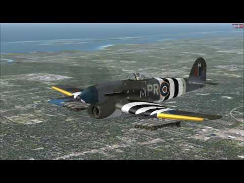 Just Flight's Hawker Typhoon