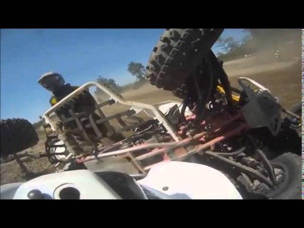 ★ Аварии на Квадроциклах ATV Accidents Accident de VTT №8 ★
