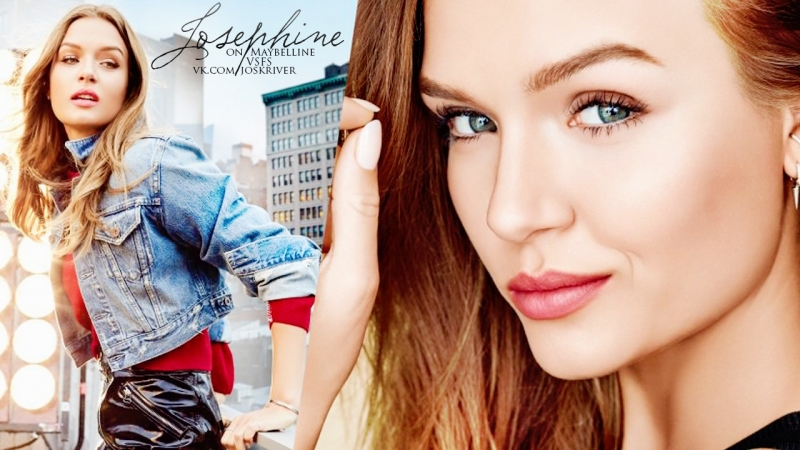 Josephine Skriver on Maybelline and Victoria's Secret Fashion Show 2018 (RUS SUB)