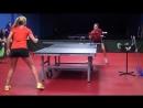 Уроки настольного тенниса на Новой Риге. Урок 2