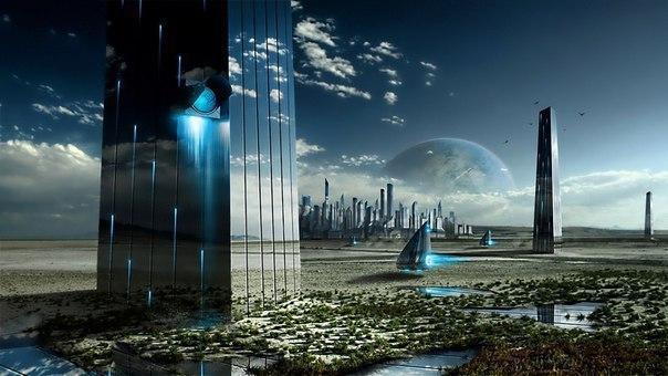 Подборка интереснейшей фантастики про будущее.