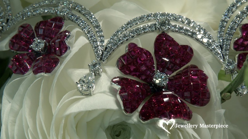 Stenzhorn High Jewellery ruby and diamond necklace