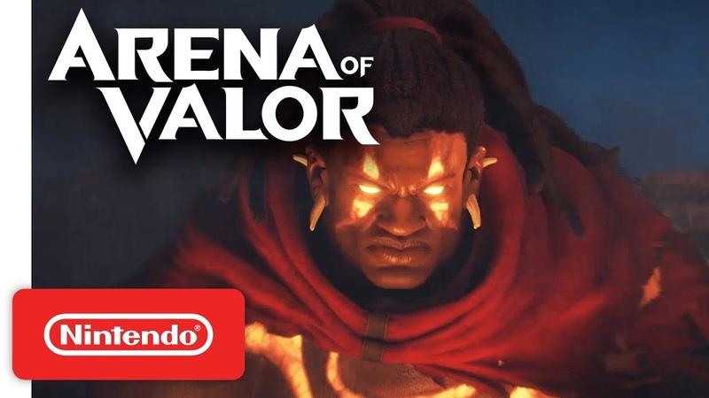 Arena of Valor - Closed Beta Date Announcement Trailer - Nintendo Switch