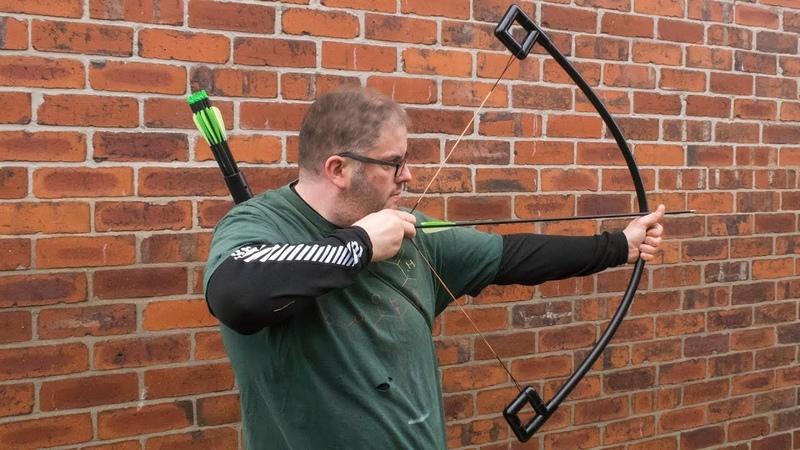 How to make a PVC and fibre glass archery bow