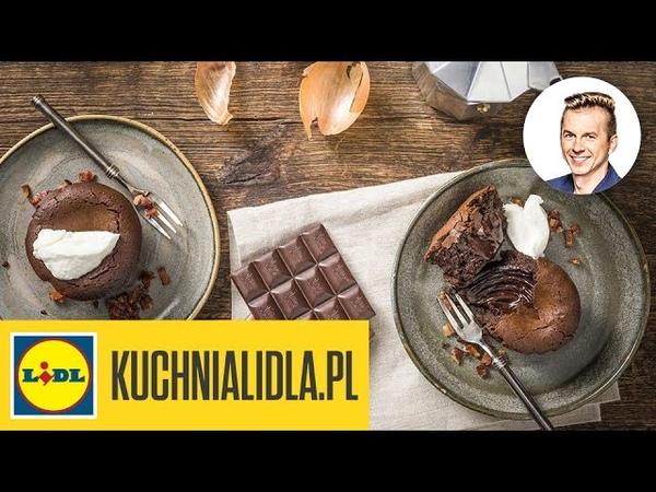 🍮 Fondant czekoladowy z curry i boczkiem - Karol Okrasa - Przepisy Kuchni Lidla