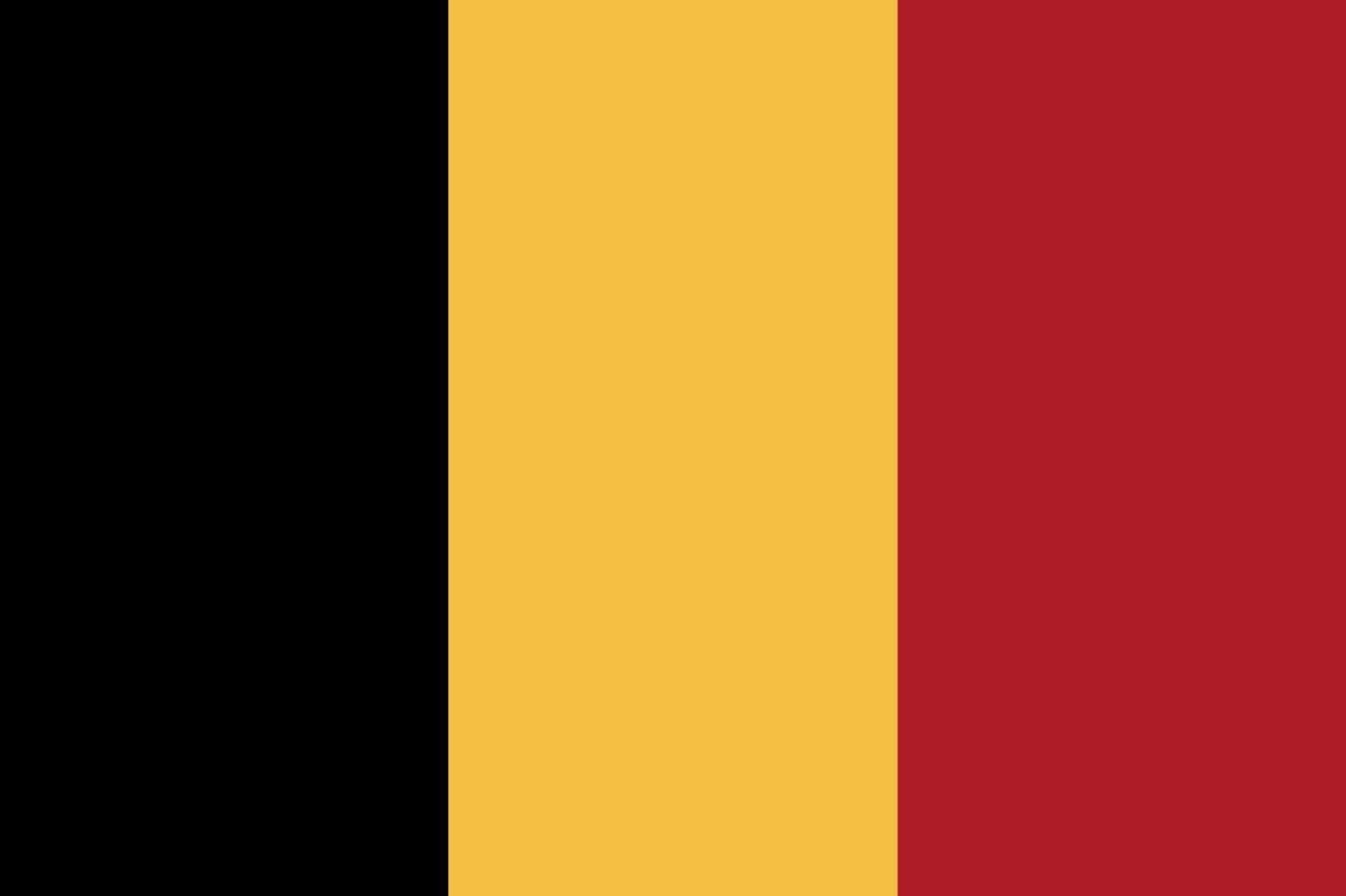 Флаг Бельгия